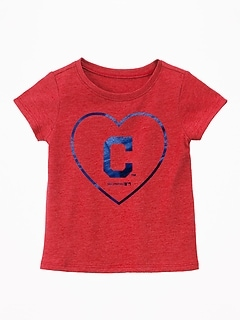 MLB&#174 Team Graphic Tee for Toddler Girls
