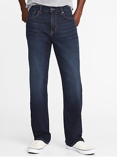 Loose Built-In Flex Jeans for Men