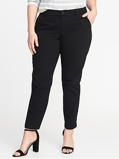 Secret-Slim Pockets Plus-Size Everyday Skinny Khakis