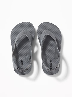 Solid Flip-Flops for Toddler Boys
