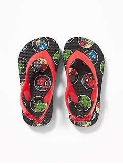 Marvel Comics&#153 Avengers Flip-Flops for Toddler Boys