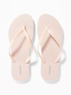 Pop-Color Flip-Flops for Women