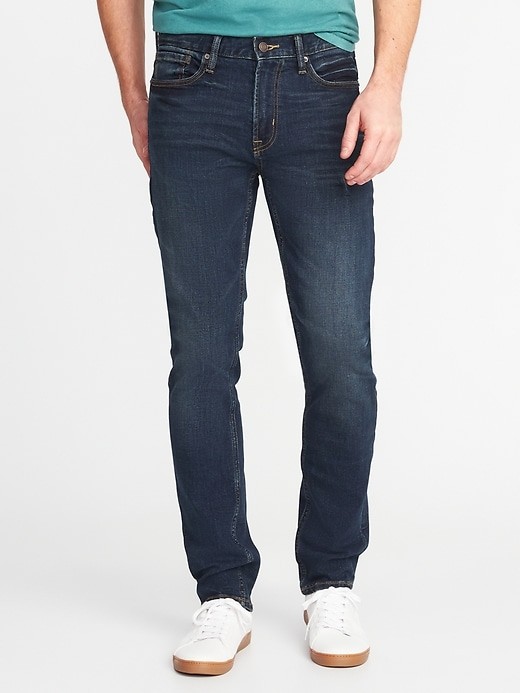 Slim Built-In Tough All-Temp Jeans for Men