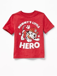 "Paw Patrol&#153 ""Mommy's Little Hero"" Tee for Toddler Boys"