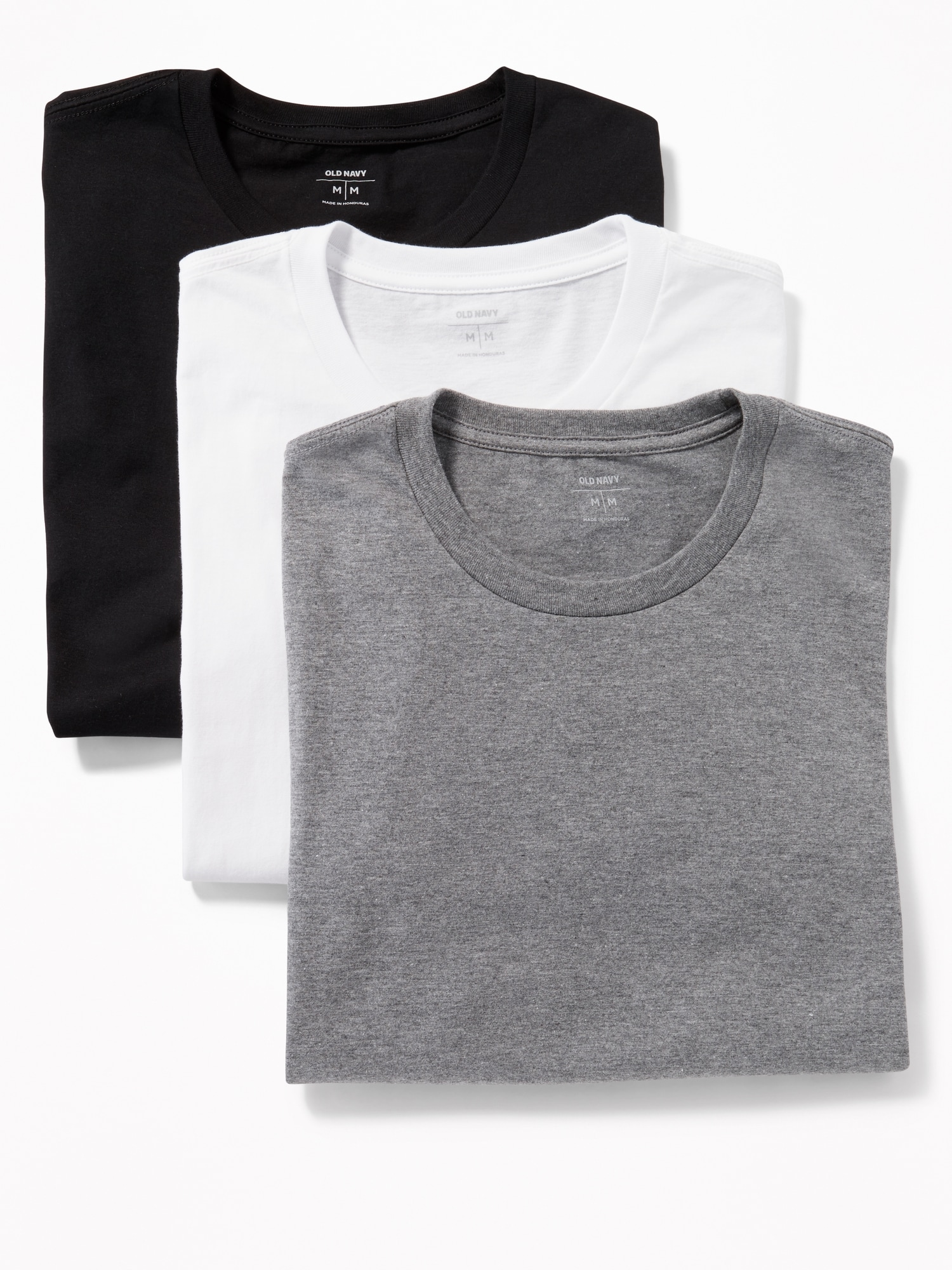 Crew-Neck Tee 3-Pack for Men | Old Navy