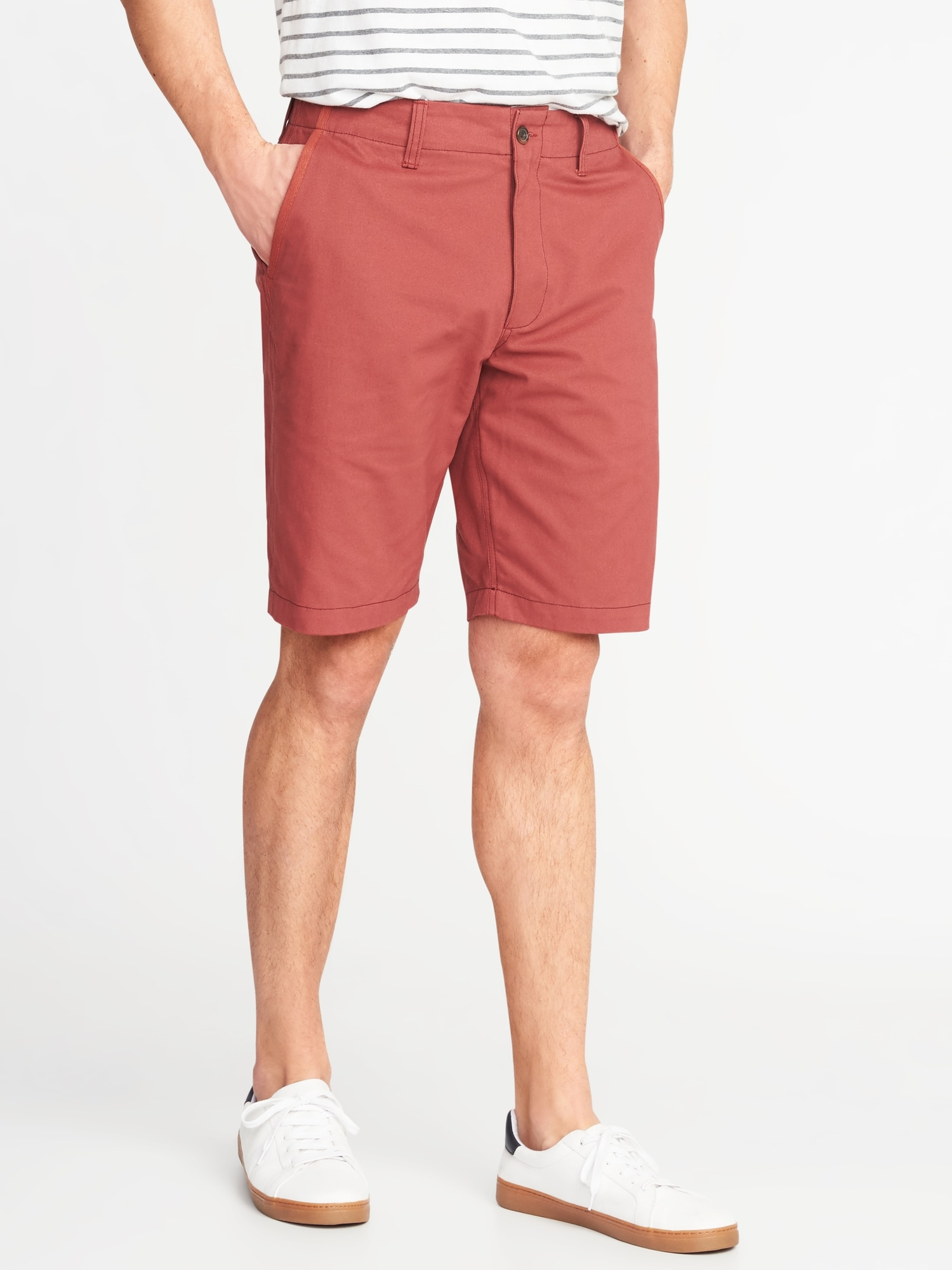 616eec23e52 Lived-In Khaki Shorts for Men - 10-inch inseam