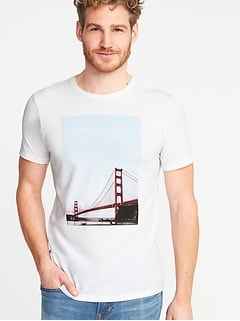 San Francisco-Graphic Tee for Men