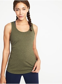 Crossback Keyhole Performance Tank for Women