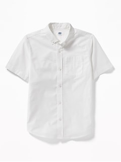 Lightweight Built-In Flex Uniform Oxford Shirt for Boys