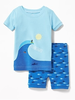 """Cowabunga"" Sleep Set for Toddler Boys & Baby"