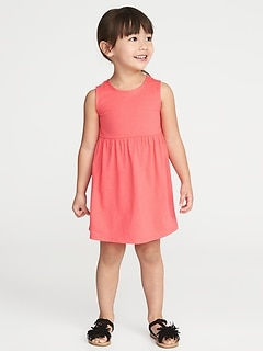 Jersey Tank Dress for Toddler Girls
