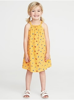 Floral-Print Swing Sundress for Toddler Girls
