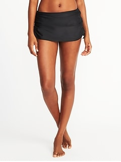 Side-Tie Swim Skirt for Women