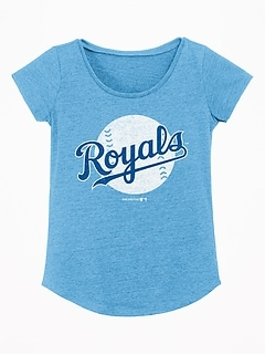 MLB&#174 Logo-Graphic Tee for Girls