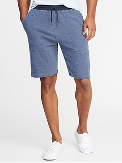 "Twill-Waist French Terry Shorts for Men (9"")"