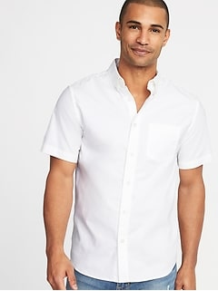 Slim-Fit Clean-Slate Built-In Flex Everyday Oxford Shirt for Men