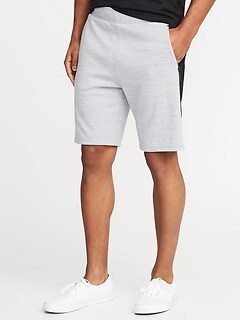 Go-Dry Double-Knit Performance Shorts for Men - 9-inch inseam