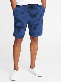 Tie-Dyed Shorts for Men - 9-inch inseam