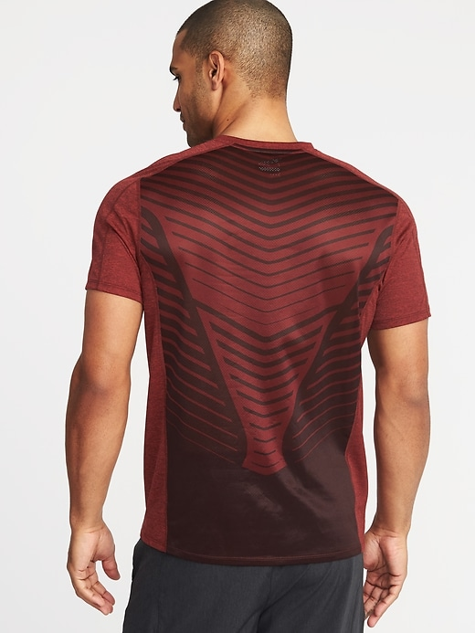 Go Dry Cool Mesh Back Performance Tee For Men by Old Navy