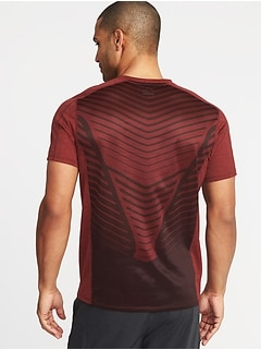 Go-Dry Cool Mesh-Back Performance Tee for Men