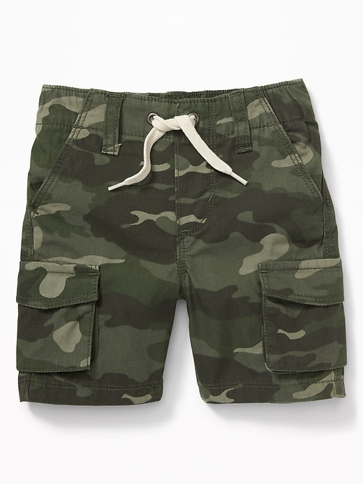 Pull On Canvas Cargo Shorts For Toddler Boys by Old Navy