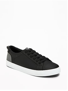 Nylon Reflective-Trim Sneakers for Boys