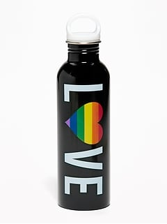 """Love"" Pride Water Bottle"
