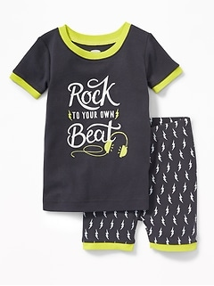 """Rock to Your Own Beat"" Sleep Set for Toddler & Baby"