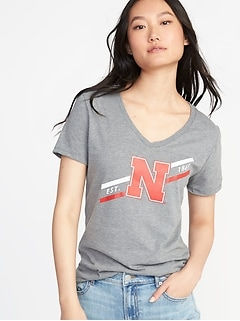 NCAA&#174 Team V-Neck Tee for Women