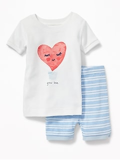 """Grow Love"" Sleep Set for Toddler & Baby"