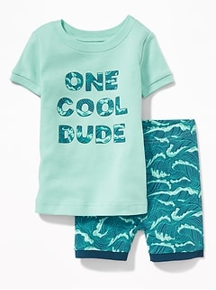 """One Cool Dude"" Sleep Set for Toddler & Baby"