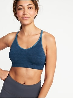 Seamless Light Support Sports Bra for Women