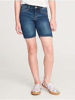 Ballerina Denim Bermudas for Girls