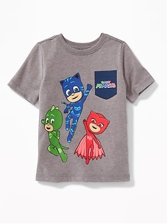 PJ Masks&#153 Faux-Pocket Tee for Toddler Boys
