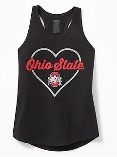 College-Team Heart Tanks for Girls