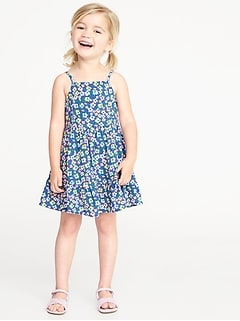 Floral Cami Dress for Toddler Girls