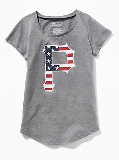 MLB&#174 Americana Team Tee for Girls