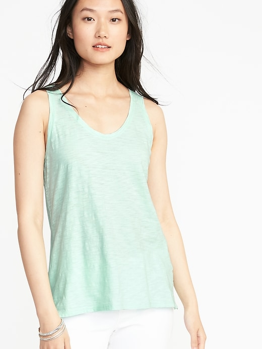 Every Wear Slub Knit Tank For Women by Old Navy