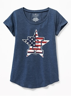 MLB® Americana Team Tee for Girls