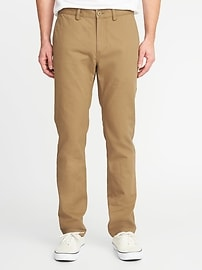 Deals on Old Navy Slim Uniform Khakis for Men