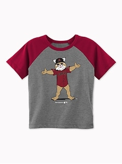 MLB® Team-Mascot Raglan Tee for Toddler Boys