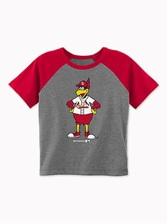 MLB&#174 Team-Mascot Raglan Tee for Toddler Boys