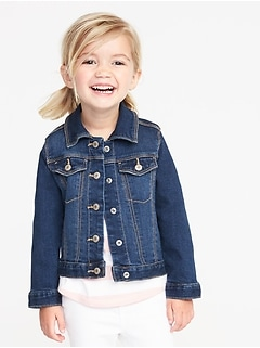 Jean Jacket For Toddler Girls