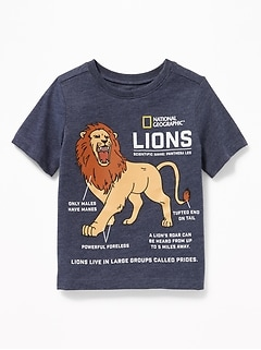 National Geographic&#153 Lions Tee for Toddler Boys