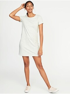 Semi-Fitted Tee Dress for Women