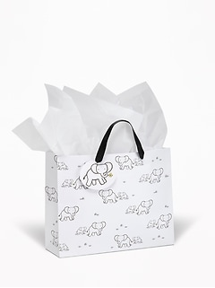 Printed Gift Bag for Baby