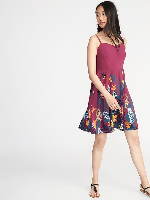 Fit &Amp; Flare Cami Dress For Women by Old Navy