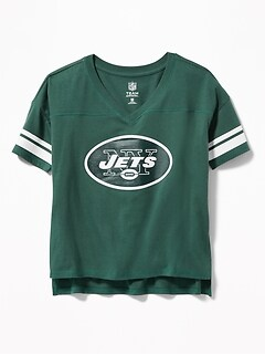 NFL&174 Team-Mascot Graphic Tee for Girls