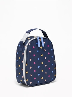 Graphic Lunch Tote for Girls