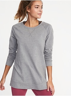 French-Terry Tunic for Women